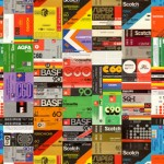 Top 100 Compact Cassette Tape Covers from 70's / 80's