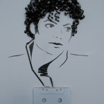 Cassette Tape Portraits by Erika Simmons aka iri5
