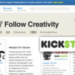 Fund & Follow Your Creativity with Kickstarter