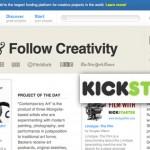 Fund & Follow Your Creativity with Kickstarter