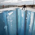 The Crevasse - Making of 3D Street Art