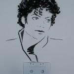 Cassette Tape Portraits by Erika Simmons aka iri5